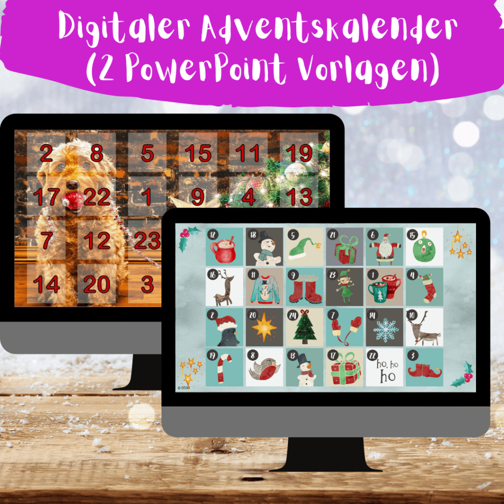 Adventskalender mit Powerpoint